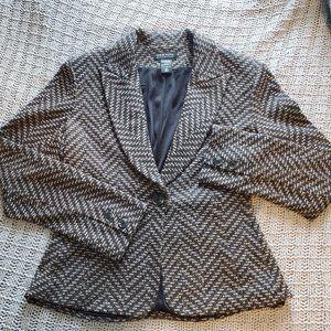 NEW YORK & CO Black&Gold Blazer/Jacket